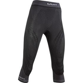 UYN Running Alpha OW Pantalones Medianos Mujer, negro/gris